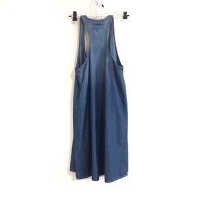 Current/Elliott Dresses - Current/Elliott Day Camp Tank Chambray Dress